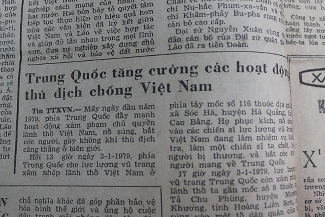 Báo chí Việt Nam viết về cuộc chiến tranh bảo vệ biên giới phía Bắc năm 1979 - Ảnh 4.