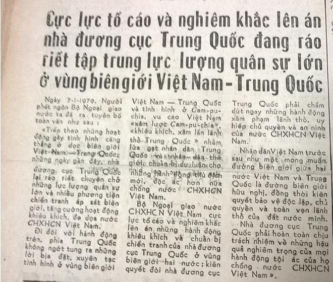 Báo chí Việt Nam viết về cuộc chiến tranh bảo vệ biên giới phía Bắc năm 1979 - Ảnh 7.