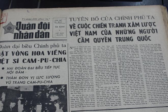 Báo chí Việt Nam viết về cuộc chiến tranh bảo vệ biên giới phía Bắc năm 1979 - Ảnh 9.