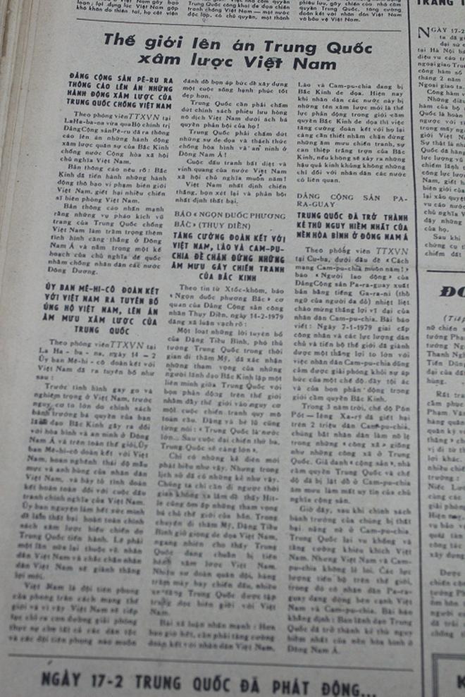 Báo chí Việt Nam viết về cuộc chiến tranh bảo vệ biên giới phía Bắc năm 1979 - Ảnh 16.
