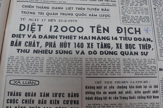 Báo chí Việt Nam viết về cuộc chiến tranh bảo vệ biên giới phía Bắc năm 1979 - Ảnh 18.