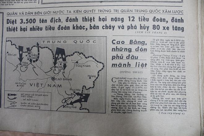 Báo chí Việt Nam viết về cuộc chiến tranh bảo vệ biên giới phía Bắc năm 1979 - Ảnh 19.