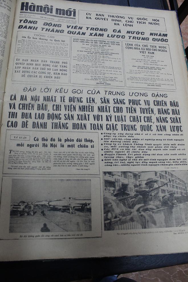 Báo chí Việt Nam viết về cuộc chiến tranh bảo vệ biên giới phía Bắc năm 1979 - Ảnh 21.