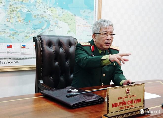 Thượng tướng Nguyễn Chí Vịnh: Chúng ta phải bước vào chiến tranh vì sự sinh tồn của nhân dân mình - Ảnh 1.