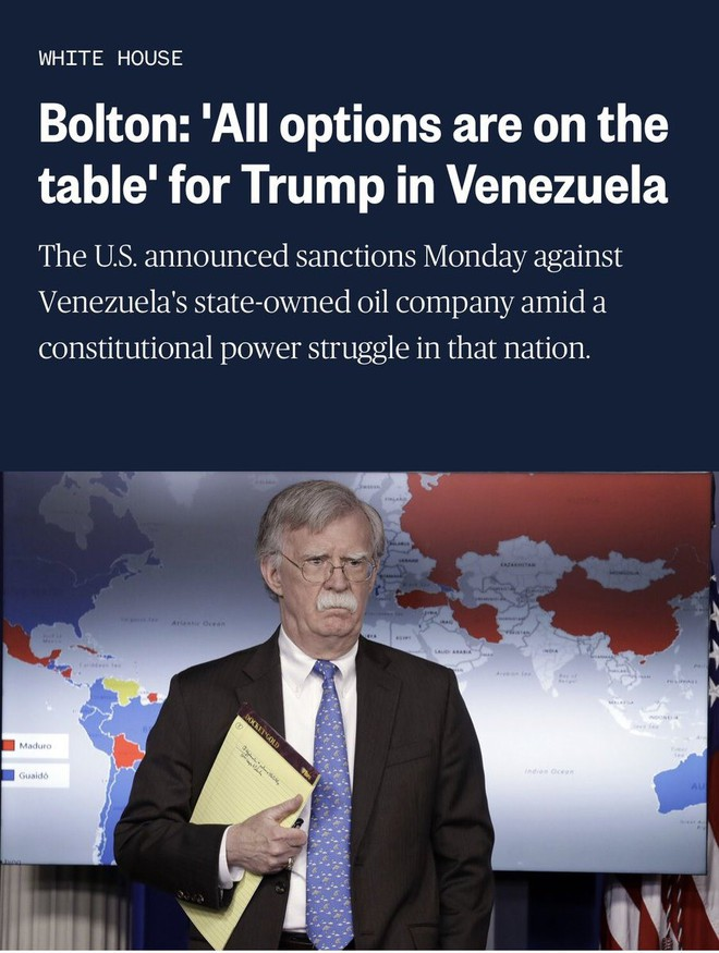 Lộ kế hoạch Mỹ điều binh đến Venezuela, Nga cảnh báo hậu quả thảm khốc - Ảnh 1.
