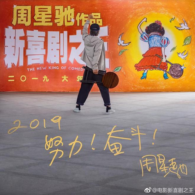 Phim chiếu Tết của Châu Tinh Trì: Xuất hiện nhân vật giống Tinh gia, Trương Bá Chi - Ảnh 8.