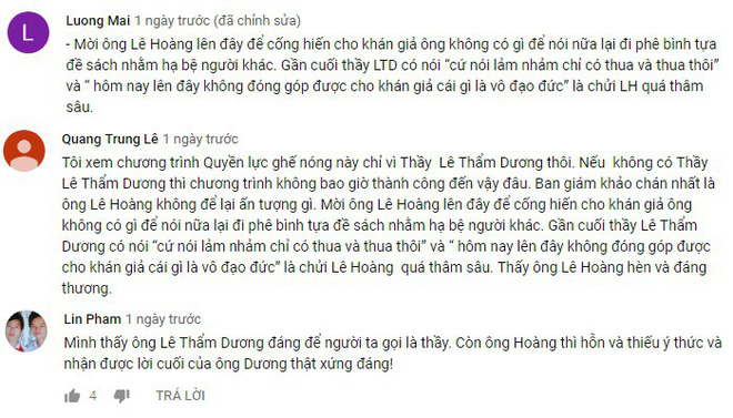 Bị đạo diễn Lê Hoàng chỉ trích gay gắt, tiến sĩ Lê Thẩm Dương phản ứng ra sao? - Ảnh 10.