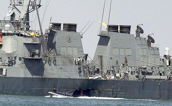 Vụ tàu khu trục Mỹ bị tấn công, thiệt hại nặng: Đòn thù của Washington vừa giáng xuống