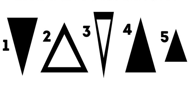 Lựa chọn 1 trong 5 hình tam giác này có thể tiết lộ nội lực tuyệt vời ẩn trong bạn bấy lâu - Ảnh 1.