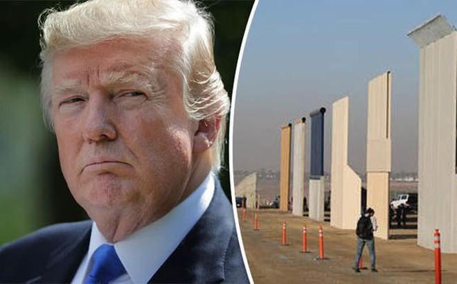 Nhượng bộ đảng Dân chủ, Tổng thống Trump chấp nhận đổi từ tường bê-tông xuống hàng rào thép