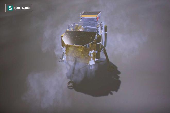Những bức ảnh đầu tiên về vùng tối của Mặt Trăng từ tàu Hằng Nga 4 - Ảnh 3.
