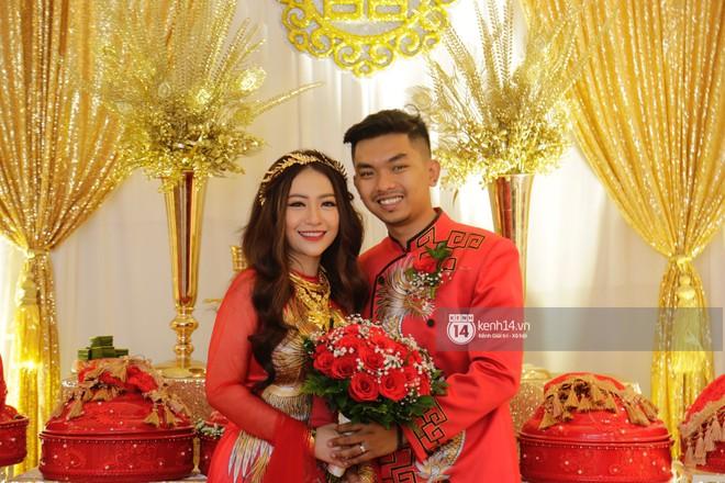 MiA rạng rỡ diện áo dài đỏ, đeo vàng đầy tay trong lễ rước dâu tại quê nhà Vĩnh Long - Ảnh 4.