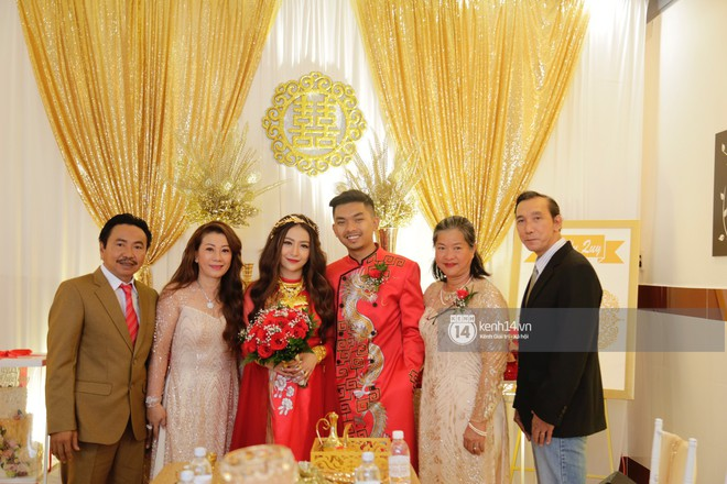 MiA rạng rỡ diện áo dài đỏ, đeo vàng đầy tay trong lễ rước dâu tại quê nhà Vĩnh Long - Ảnh 5.