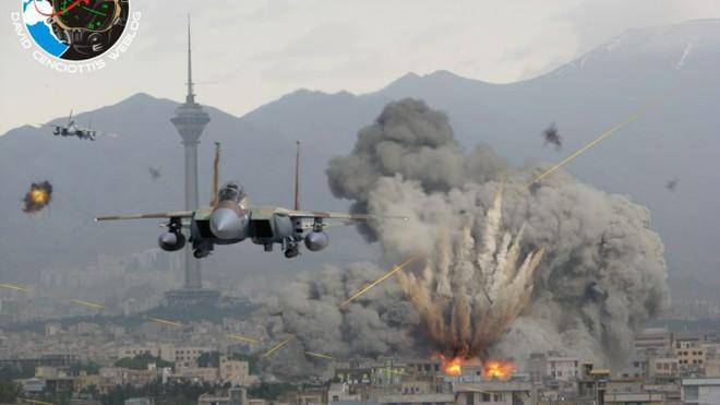 Tên lửa S-300 Syria mật phục: Chờ màn pháo hoa chết chóc chào đón F-16 Israel! - Ảnh 4.