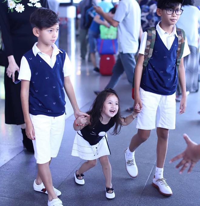 3 người con ruột của Hoa hậu Hà Kiều Anh và chồng đại gia có cuộc sống như thế nào? - Ảnh 10.