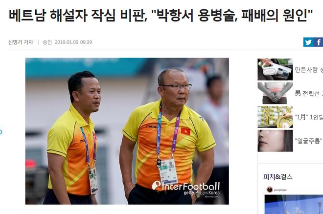 Báo Hàn Quốc ngạc nhiên: Tuyển Việt Nam đá thế mà vẫn có người chê HLV Park Hang Seo - Ảnh 1.