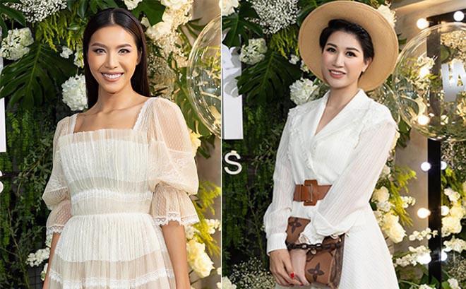 Trang Trần cùng Minh Tú gây chú ý với hình ảnh dịu dàng, nữ tính