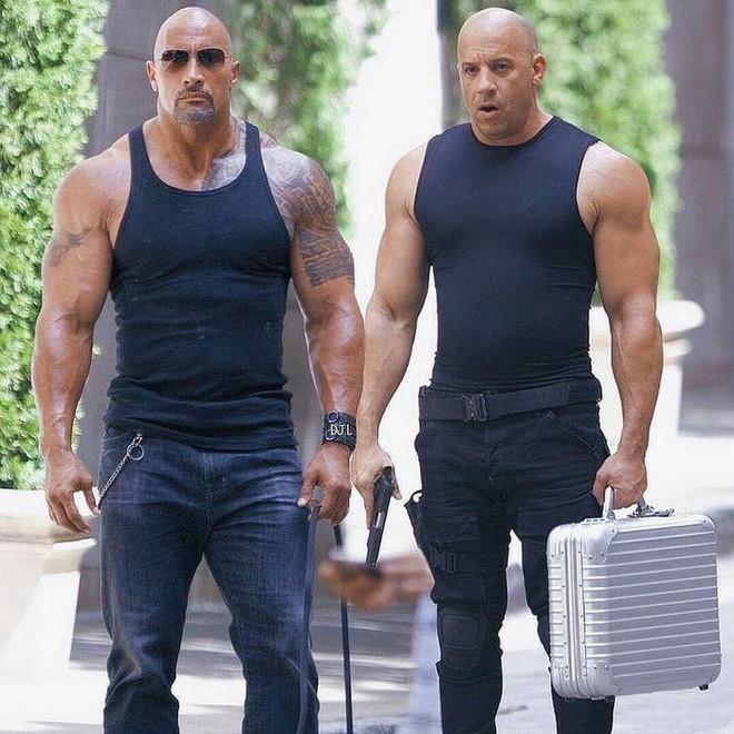 Từng không đội trời chung, mối quan hệ giữa Dwayne Johnson và Vin Diesel giờ ra sao? - Ảnh 2.