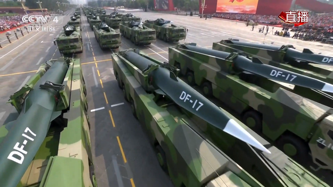 Đầu đạn siêu thanh DF-17 của Trung Quốc đã sẵn sàng chiến đấu ở mức cao nhất? - Ảnh 3.