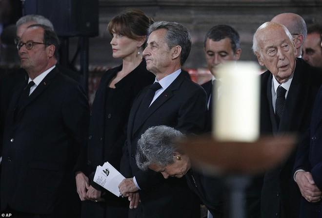 Ông Putin, ông Clinton đến Pháp viếng cố Tổng thống Jacques Chirac - Ảnh 12.