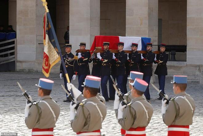 Ông Putin, ông Clinton đến Pháp viếng cố Tổng thống Jacques Chirac - Ảnh 3.