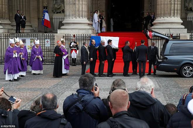 Ông Putin, ông Clinton đến Pháp viếng cố Tổng thống Jacques Chirac - Ảnh 5.