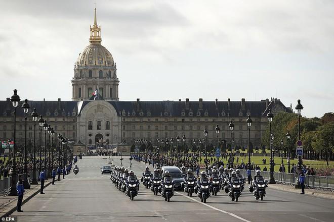 Ông Putin, ông Clinton đến Pháp viếng cố Tổng thống Jacques Chirac - Ảnh 6.