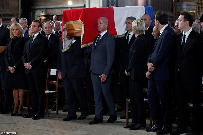 Ông Putin, ông Clinton đến Pháp viếng cố Tổng thống Jacques Chirac - Ảnh 8.