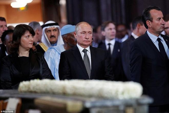 Ông Putin, ông Clinton đến Pháp viếng cố Tổng thống Jacques Chirac - Ảnh 10.