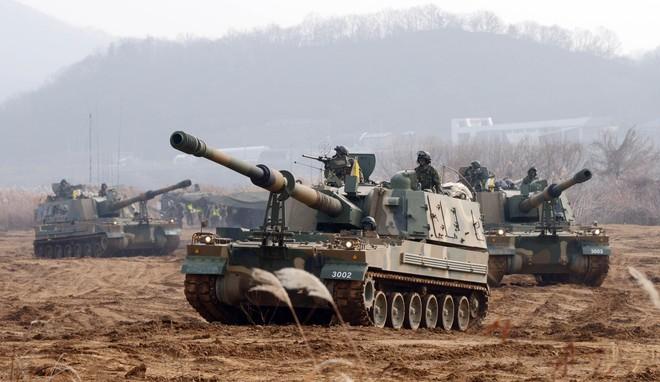 Nga giật mình khi sấm sét chiến trường K9 Thunder áp sát biên giới - ảnh 4