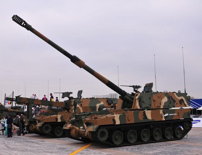 Nga giật mình khi sấm sét chiến trường K9 Thunder áp sát biên giới - ảnh 7