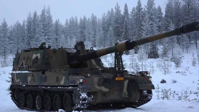 Nga giật mình khi sấm sét chiến trường K9 Thunder áp sát biên giới - ảnh 9
