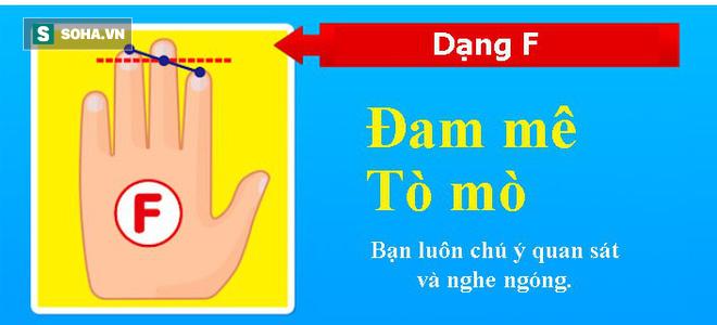 Tố chất bộc lộ qua độ dài 3 ngón tay trên bàn tay trái: Nếu ở dạng E, bạn rất thông minh, quyến rũ - Ảnh 8.