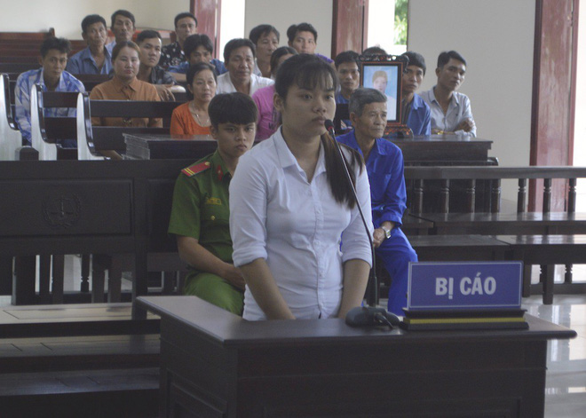 Thiếu nữ giết chồng ở Đồng Tháp lãnh án 4 năm tù - Ảnh 1.