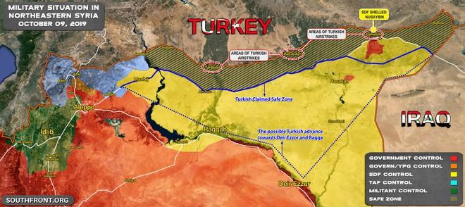 CẬP NHẬT: Đại quân Thổ đánh lớn chưa từng có ở Syria - Dân náo loạn di tản, cộng đồng TG lên tiếng khẩn cấp - Ảnh 2.