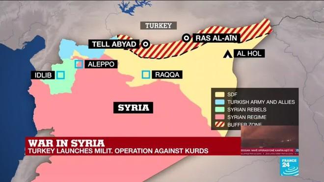 Binh sĩ Thổ Nhĩ Kỳ và các tay súng người Kurd giao tranh dữ dội tại Qamishli - ảnh 2