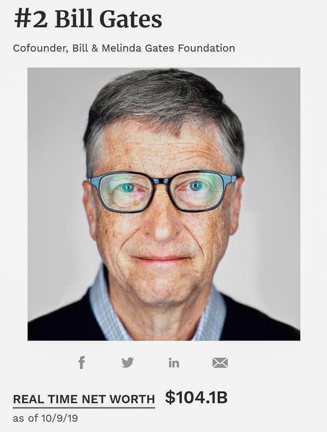 Chia 10 USD cho mỗi người trên trái đất, Bill Gates vẫn thừa 30 tỉ USD - ảnh 1