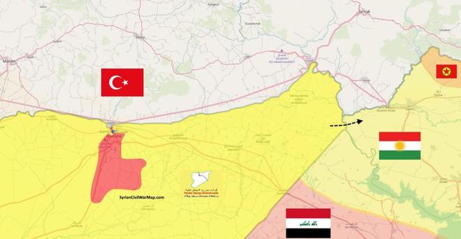 CẬP NHẬT: Máy bay UAV Thổ Nhĩ Kỳ bị bắn rơi - Chiến sự đẫm máu chưa từng có, SDF phản đòn quyết liệt - Ảnh 3.