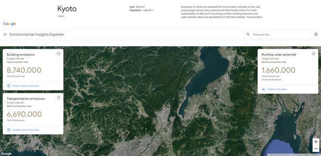 Google ra mắt công cụ đánh giá mức độ ô nhiễm của các thành phố - Ảnh 2.