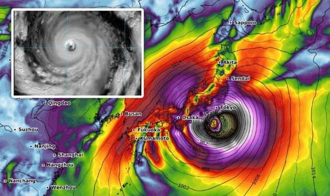 Siêu bão 'hung dữ' sắp đổ bộ: Nhật Bản tái diễn thảm kịch tang thương năm 2018? - ảnh 3