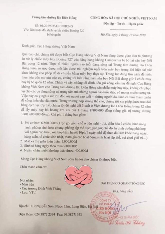 """Viện dưỡng lão xin máy bay bỏ quên ở Nội Bài để giúp các cụ """"trải nghiệm - Ảnh 1."""