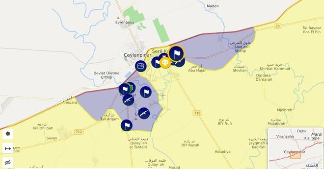 Thổ Nhĩ Kỳ tung cú đấm knock-out - Đòn đánh kết liễu có thể khiến SDF sụp đổ ở Tel Abyad - Ảnh 15.