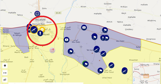 Thổ Nhĩ Kỳ tung cú đấm knock-out - Đòn đánh kết liễu có thể khiến SDF sụp đổ ở Tel Abyad - Ảnh 6.