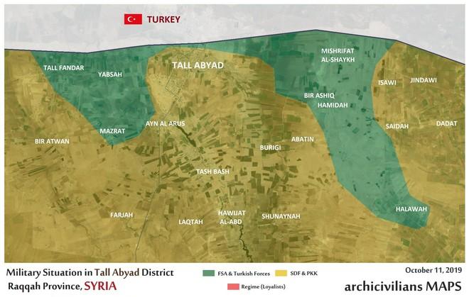 Thổ Nhĩ Kỳ tung cú đấm knock-out - Đòn đánh kết liễu có thể khiến SDF sụp đổ ở Tel Abyad - Ảnh 21.