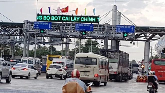 Đề xuất xóa bỏ BOT Cai Lậy, thu phí lại đường cao tốc TP HCM - Trung Lương - Ảnh 2.