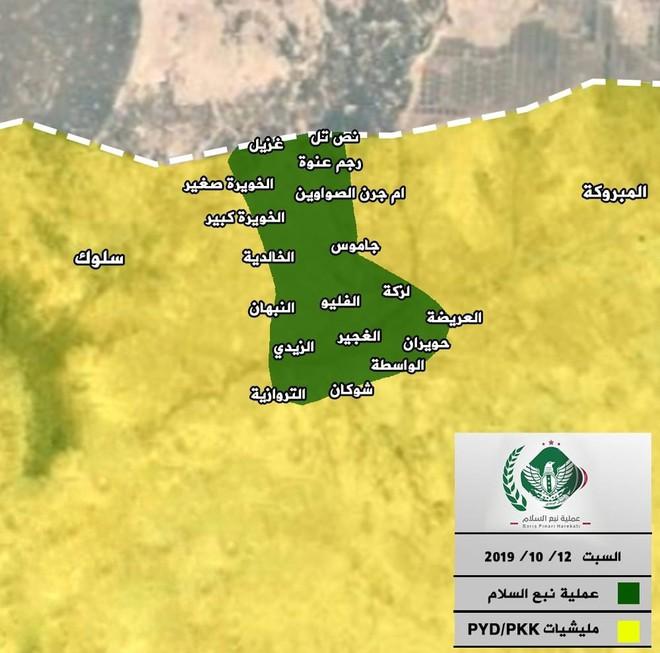 Thổ Nhĩ Kỳ tung cú đấm knock-out - Đòn đánh kết liễu có thể khiến SDF sụp đổ ở Tel Abyad - Ảnh 14.