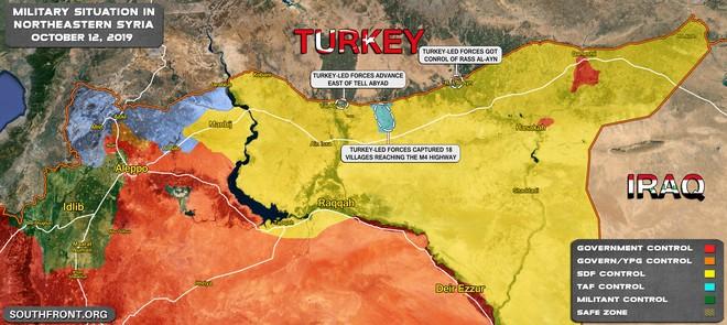 Thổ Nhĩ Kỳ tung cú đấm knock-out - Đòn đánh kết liễu có thể khiến SDF sụp đổ ở Tel Abyad - Ảnh 9.