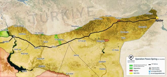 Thổ Nhĩ Kỳ tung cú đấm knock-out - Đòn đánh kết liễu có thể khiến SDF sụp đổ ở Tel Abyad - Ảnh 8.
