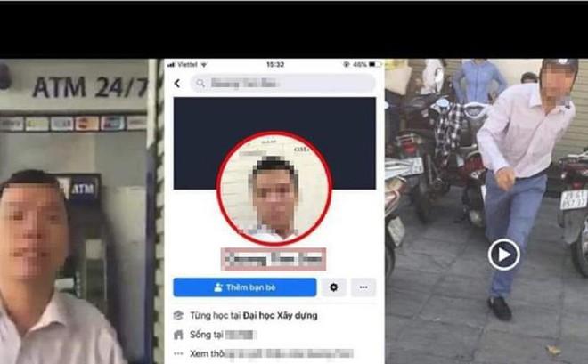 Công an làm việc với người đàn ông đánh tới tấp, chửi người nhắc nhở xếp hàng ở cây ATM