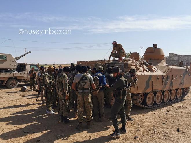 Thổ Nhĩ Kỳ tung cú đấm knock-out - Đòn đánh kết liễu có thể khiến SDF sụp đổ ở Tel Abyad - Ảnh 7.